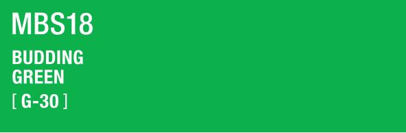 BUDDING GREEN MBS18 G-30