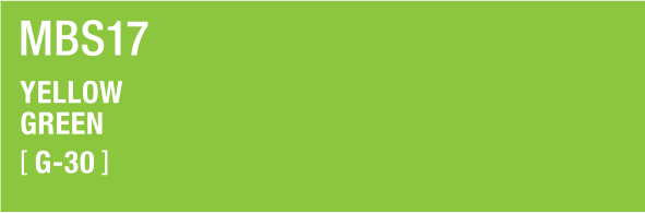 YELLOW GREEN MBS17 G-30
