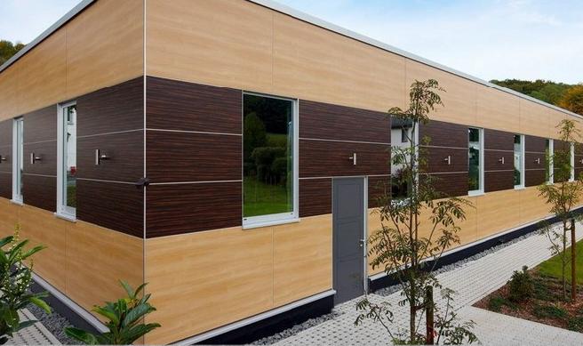 HPL-панели для фасада