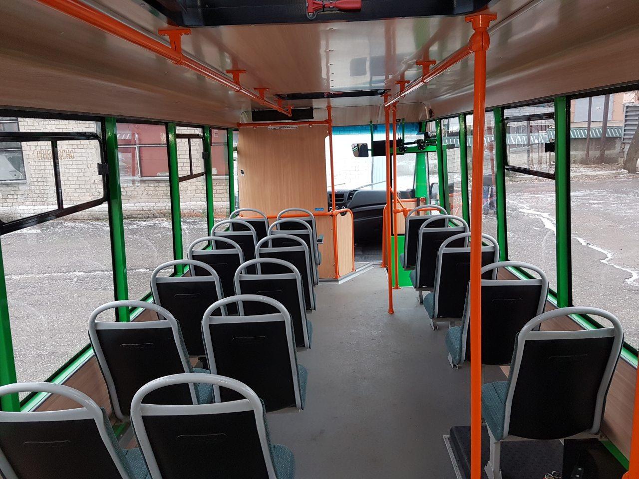 Обшивка в автобусі