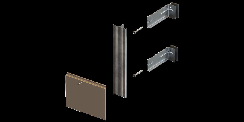 Комплектуючі для системи навісного вентильованого фасаду