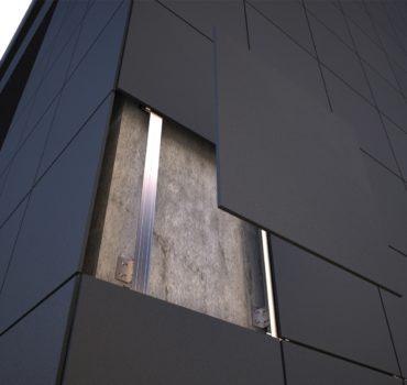 Фасадные системы: способы крепления облицовочных материалов. Часть 1