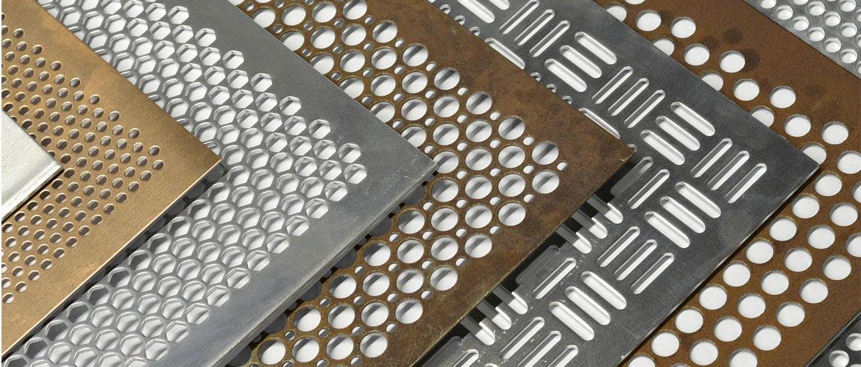 Алюминиевый лист с перфорацией для фасадов