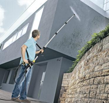 Финальные работы при монтаже навесного алюминиевого фасада